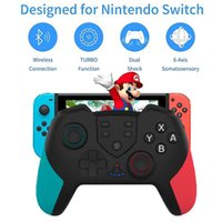 Gamepad Wireless Controller Joystick For N-Switch NS Switch Pro Remote Bluetooth Gamepads Game Controllers & Joysticks