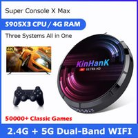 Retro Video Game Console Super Console X Max 4K HD Wifi With 50000+ Games For PS1 PSP N64  SS Game Player TV Box