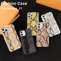 Per iPhone Caso 11 12 Pro MAX Fashion Phone Cases con Beautiful Designer Snake Skin 11xS XSMAX XR 8Plus 8 7Plus Grossista