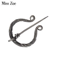 Ireland forged Miss Decorated Zoe Viking age Norse scarves shawl coat Cloak brooch pin Retro vintage jewelry f