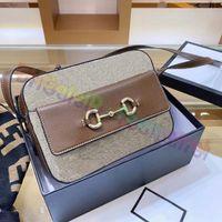 2021 أكياس المصممين الفاخرة خمر رسول حقيبة يد النساء crossbody اليد النحاس الأجهزة الأصلية جودة اللباس أزياء حقيبة كاميرا مع صندوق