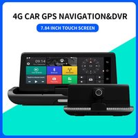 Car Video 8 Inch Dual-lens DVR Bluetooth Cross-border Driving Record Navigator Universal Dash Cam Navi
