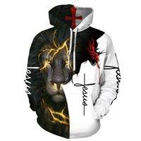 Xxs-6xl menswear 2021 autumn winter new Hooded Sweater men's 3D digital printed clothes
