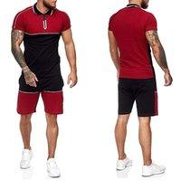 Tracksuits pour hommes Dailou Mode T-shirt Shorts SetteursSwear Vêtements d'été à manches courtes Luxueux Costume occasionnel 2PC