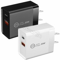 20W Fast Quick Charge Type c USB-C PD Eu US AC Home Travel Wall Charger Power Adapter For IPhone 11 12 Pro Max Samsung Htc
