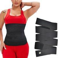 Shapers de Mulheres Treinador de cintura Shaperwear Cinto Mulheres emagrecimento Tummy Envoltório Trimmer Resistência Bandas Cincher Corpo Shaper Fajas Fajas Cinta de Controle
