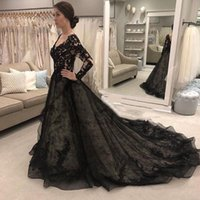2021 Real Pics Prom Dresses Lace Tulle Backless with Long Sl...