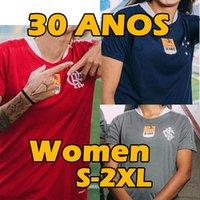 Flamengo Cruzeiro SC Internacional 30 Anos Mulheres Futebol Jerseys Brasil Gabriel B. Gabi Muler Camisa de Futebol 30º Uniformes de Aniversário S-2XL