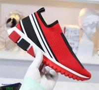 T115D respirável ar-tecida malha lazer esportes sapatos strass liso meias low-top amantes mulheres e homens moda tamanho35-45
