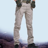 Men's Pants City Tactical Cargo Classic Outdoor Hiking Trekking Army Joggers Pant Camouflage Military Multi Pocket Trousers