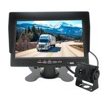 Auto-Video-Fahrzeug-Backup-Kamera und -monitor 12-24V AHD 1080p Buswagen Anhänger RV Rückansicht HD mit 7 Zoll 1024 x 600 mo