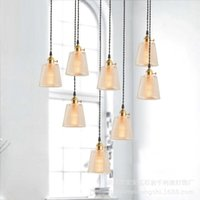 Pendant Lamps Modern Luminaria Pendente Industrial Lamp Glass Home Decoration E27 Light Fixture LED Lights Hanging Ceiling