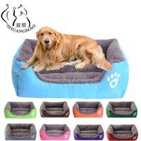 الكلاب أقلام شوانغما الحيوان أريكة سرير الكلب داخلي المتوسطة الصغيرة الناعمة الصوف الدافئة القط السرير للماء أسفل الكلاب حصيرة بطانية المنتجات