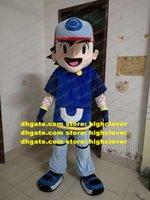 Blastoise Wartortle Ash Ketchot Mascot Costume Adulto Cartoon Personaggio Outfit Vestito a piedi Strada Sera Party ZX1560