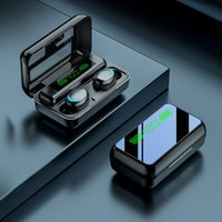Controle de toque Bluetooth fones de ouvido TWS R11 HD Espelho LED Display Digital Mini Headphone Esportes In-Ear V5.1 Earbuds Headset Gaming
