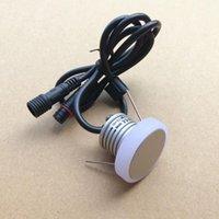10 adet Su Geçirmez 1 W Mini LED Downlight DC12V Antiglane Tavan Lambası Puck Işık CE ROHS Downlights