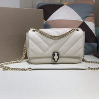 Single-shoulder bag Women Shoulder Bags Practical double partition big space Designer Art White Black Genuine Leather Top quality Fashion classic
