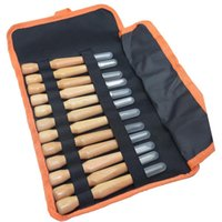 Professional Hand Tool Sets 12Pcs Wood Carving Chisels Knife Tools Set For Woodcut Working Clay Wax Arts Craft Cutter Woodworking