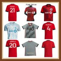 Jugador versión 2021 2022 Toronto FC Soccer Jerseys Home Kit 22 22 Camisetas Bradley Altidore Pozuelo Akinola Osorio P. Piatti Camisetas de fútbol Uniforme