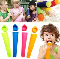 Colorful Silicone Ice Pop Maker Push Up Ice Cream Jelly Lolly Pop For Popsicle Silicone Ice Pop Mold mould