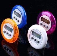 5Color rond electronics compte à rebours d'alarme d'alarme Digital Desktop Home Cuisine Gadgets Outils de cuisson Compteur de temps de cuisson