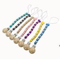 سيليكون مصباح سلسلة حاملي الأسنان الغراء الحب شكل قطرة سلاسل الطفل منتجات الأطفال DHC7343