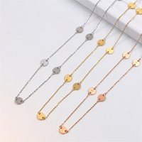 Women Men Fashion Classic Letter Necklace with Box Exquisite Charm Gold Jewelry Gift Europe America Style Pendant Necklaces