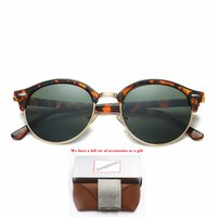 4246 الأزياء النظارات الشمسية toswrdpar النظارات نظارات الشمس مصمم رجل إمرأة براون الحالات أسود إطار معدني داكن 50 ملليمتر عدسات