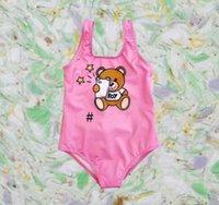 أزياء الصيف المصممين 2021 الأطفال فتاة قطعة واحدة ملابس أطفال الطفل مثير لطيف بحر بيكيني المايوه ملابس السباحة شاطئ بذلة الملابس