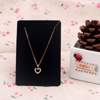 2021 6*9cm 100pcs lot Jewelry Display Card Price Tag Kraft Paper Earring Holder Necklace Cards Can Custom Logo
