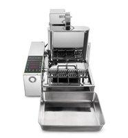 Food Processing Equipment Commercial Mini 4 Rows Donuts Making Machine Doughnut Maker Frying Maker  Machine