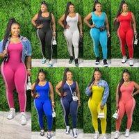 Women's Pants & Capris Women Plus Size Fat Plus-sized Vest Side Striped Close-fitting Union Suit One-Piece Trousers 9 Colors Work Body Suits