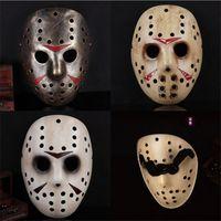 Jeu Vendredi 13ème Masque Cosplay Jason Butcher Masque Voorhees Freddy Hockey Masquerade Masque Masque Terreur Horror résine