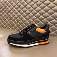 Yüksek Kaliteli erkek Ayakkabı Hakiki Deri Yanardöner Panel Kıdemli El Yapımı Spor Rahat Ayakkabı Moda Dikiş Renkli Kalın Tabanlı Daireler Kutusu 38-44