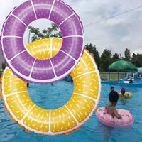 Water Inflatable Toys Children Swimming Rings, Sports Supplies, PVC Fruit Printed Float Life Vest & Buoy