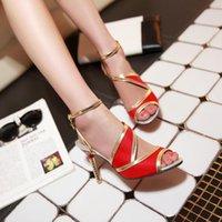 Sandals Fashion Women 2021 Thin High Heels Sandales Female Summer Shoes For Buckle Strap Sandalias Mujer Footwear