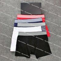 Modedesigner Herren Unterwäsche Boxer Männliche Casual Shorts Unterwäsche Brief Gedruckt Atmungsaktive Unterhose Männer Boxer Slips Underviant