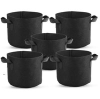 Premium Series 1-30 Gallon Plant Grow Bags Heavy Duty Container Thickened Nonwoven Fabric Plants Pots Planters with Handles OWB9027