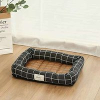 Summer pet dog kennel temperature reduction square cool nest