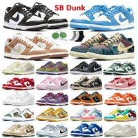 dunk dunks La Mezcla uomini donne scarpe da corsa mens esterni argento bianco nero triple delle donne allenatori sportivi sneakers corridori formato 36-45