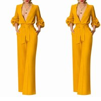 Yellow Customized Women Tuxedos Suits Street Shot High Waist Lady Blazer Suit Wear Prom Party Business Outfits 2 Pieces