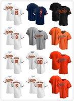 "Benutzerdefinierte Jersey Herren Frauen Baltimore ""Orioles"" 8 cal Ripken Jr. 16 Trey Mancini 19 Chris Davis 6 Ryan Mountcastle Baseball-Trikots"