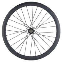 자전거 바퀴 700C 50mm clincher 탄소 디스크 Novatec 792 142x12mm QR 허브 23mm 930g 3K UD Road