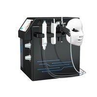 4 في 1 diamond dermabrasion آلة الوجه الأكسجين أكوا الجلد تقشير هيدرا معدات microdermabrasion