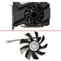 4Pin ha9015H12F-Z GTX1060 ETH FAN de enfriamiento para GIGABYTE GTX1650 1650/1660/2060 Super Mini ITX Tarjeta de video Fans Fans