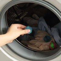 Nylon Lavandería Productos Bola Hogar Anti-Enredado Lavadora Herramientas Depilación Lavandería Limpieza Bolas DHB6104