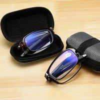 Sonnenbrille Gafas de Lectura Diseño Para Hombre y Mujer, Anteojos Plegables con Montura TR + 1,0 1,5 2,0 2,5 3,0 3,5 4,0