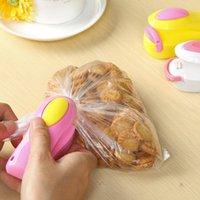 Storage Bags Household Portable Mini Snack Plastic Bag Sealing Machine Small Hand Pressure Heat Clip
