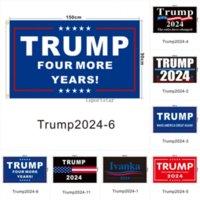 DHL Gemi Trump Seçim 2024 Trump Bayrağı Tutun 90 * 150 cm Amerika Asılı Büyük Afişler 3x5ft Dijital Baskı Donald Trump Bayrak 20 Renkler Dekor