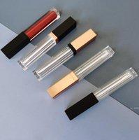 Boş Kare Dudak Parlatıcı Tüpler DIY Şeffaf Dudaklar Ev Sundries Sır Konteynerler Doldurulabilir Lipgloss Şişeleri 5 ml HWC7576
